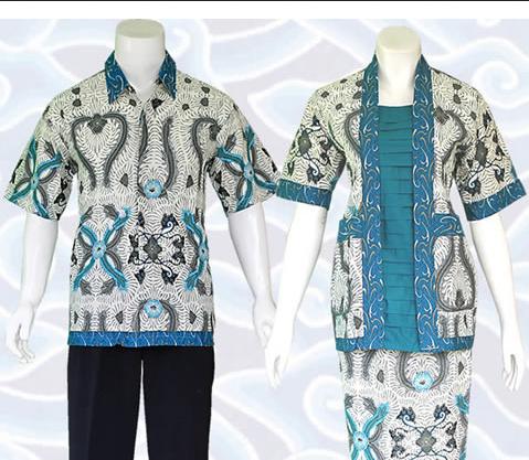 Cara Memilih Model Baju Batik Kerja Pria dan Wanita  520d5dbd4e