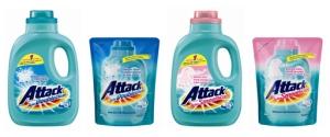 deterjen cair attack, solusi untuk mencuci baju bersih